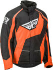 Fly Racing Snowmobile Outpost Jacket (Black/Orange) Choose Size