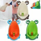 Kids Baby Toddler Boy Frog Potty Urinal Pee Toilet Travel Home Training cY