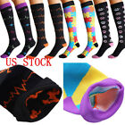 2pc Compression Socks For Women Men Medical Nursing Travel Flight Sport Stocking