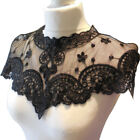 Retro Fabric Flower Lace Sewing Applique Lace Round Neck Collar Neckline Fashion