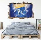 Kansas City Royals Wall Art Decal MLB Baseball Team 3D Smashed Wall Decor WL87 on Ebay