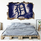 Detroit Tigers Wall Art Decal MLB Baseball Team 3D Smashed Wall Decor WL90 on Ebay