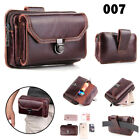 Leather Case Wallet Waist Bag Universal Pack Pouch Belt Clip For iPhone XS XR 8