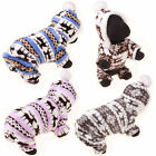 Small Pet Dog Fleece Hoodie Puppy Warm Sweater Coat Shirt Jacket Apparel Costume