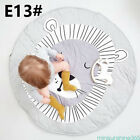 Soft Cotton Baby Kids Game Gym Activity Play Mats Blanket Floor Rugs Gifts NEW