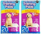 40 x Super Absorbent Large Puppy Pet Training Pads 60 x 45cm 5 Layers!