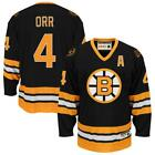 Bobby Orr Boston Bruins Vintage NHL Home Away Jersey M L XL 2XL 3XL
