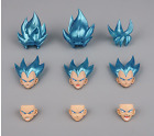 Dragon Ball Vegeta Super Saiyan Son Goku Head Sculpt Accessories Model For SHF