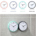 Waterproof Kitchen Bathroom Bath Shower Suction Cup Sucker Clock Wall Decoration