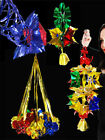Christmas+Foil+Decorations+Colour+Co-ordinated+Hanging+Ceiling+Tree+Decorations