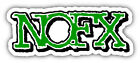 NOFX Car Bumper Sticker Decal - 3'', 5'', 6'' or 8''