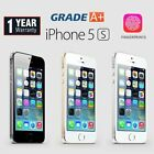 Apple Iphone 5s 16gb 32gb 64gb Factory Unlocked Smartphone Various Grade A++ Uk