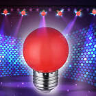 Colorful LED Bulb 1W E27 LED Colorful Golf Ball Light