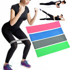 Resistance Elastic Band Exercise Yoga Gym Belt Rubber Fitness Training Stretch image