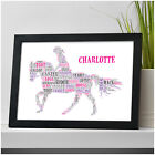 Personalised Horse Riding Equestrian Birthday Christmas Gifts Her Girls Daughter