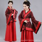 Chinese Han Kids dress costume Girls Han Dress Princess party dress Cosplay Red