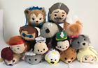 Lots Of Styles Disney TSUM TSUM Mini Bolt Rapunzel Mickey Plush Toys With Chain