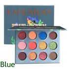 Makeup Beauty Brighten Powder Pearlized Glitter Eyeshadow Palette Eye Cosmetics