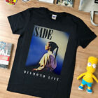 NEW rare - VTG- Sade  Diamond Life top gildan t shirt USA size - black reprint image