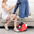 Standing Garment Clothes Fabric Steamer Iron Steam Wrinkle Remove Garment Hanger photo