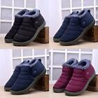 Winter Women Men Shoes Snow Boots Fur Lined Antiskid Warm Ankle Boots Waterproof