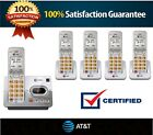 New AT&T Set DECT 6.0 Cordless Telephone Portable Wireless Home Phone lot