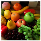 Multi Type Artificial Fake Fruits Vegetables Plastic Lifelike Decorative Fruit