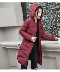 Women's fashion Hooded long sections fur ball cotton winter jacket KREDT96402#
