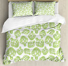 Artichoke Duvet Cover Set with Pillow Shams Super Food Vegetable Print image
