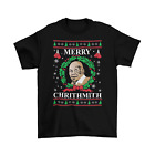 Mike Tyson Merry Christmas T-Shirt Unisex Adult Funny Sizes Ugly Sweater New