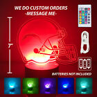 Los Angeles Charger Personalized Led Lamp, Light Up 3D Night Light. Made in USA. $24.99 USD on eBay