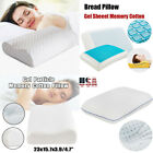 Gel Memory Foam Cluster Classic Standard Cotton Bed Pillows Lot Free Shipping US image