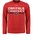 NHL Washington Capitals Ultimate Performance Long Sleeve Shirt New Mens Size $40 $19.99 USD on eBay