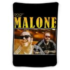 """Post Malone Governors Ball Blanket ( 40"""" X 30"""" / 60"""" X 50"""" / 80"""" X 60"""" ) image"""