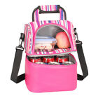 Insulated Lunch Box Tote Bag Men Women Travel Hot Cold Food Thermal Cooler