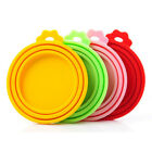 Animal Pet Dog Food Can Cover Lid Cat Tin Silicone Plastic Reusable Storage Cap