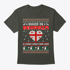 Made In Georgia Christmas Ugly Sweater Hanes Tagless Tee T-Shirt