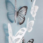 3d Butterfly Crystal Transparent Decor Wall Sticker Home Wall Decals 18pcs Hot