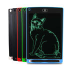 """8.5"""" Ultra-thin LCD Writing Tablet Pen Writing Drawing Memo Message Board Lot"""