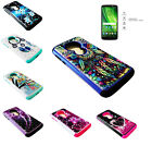 Tempered Glass Sparkle Case Cover For Motorola Moto E5 XT1920DL/G6 Play/G6 Forge