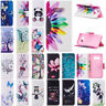 For Samsung Galaxy S10 E S10 Plus Painted Wallet Leather Case Flip Stand Cover