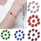 Frosted Gemstone Glow Round Glass Loose Luminous Beads Charm Craft DIY 10mm 12mm