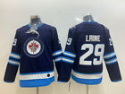 Winnipeg Jets 29 Patrik Laine NHL Hockey Jersey Size M 3XL
