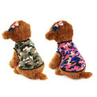 Pet Puppy Dog Cat Clothes Camouflage Vest T Shirt Costume Apparel Cat Shirt