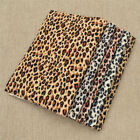 A4 Leopard Printed Pvc Leather Fabric Diy Shoulder Bags Sewing Accessories Craft