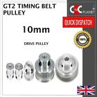GT2 10mm Timng Belt Smooth Tooth Idler Drive Pulley 16 20 30 36 40 60 Bore 3 5 8