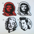 CHE GUEVARA MARILYN MONROE ELVIS EMBROIDERED IRON ON PATCH T-SHIRT JACKET JEAN