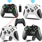 WIRED OR WIRELESS CONTROLLER FOR MICROSOFT XBOX ONE, SERIES X, USB PC CONTROLLER