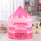 Girls Princess Castle Playhouse Protable Children Kids Play Tent In/Outdoor Toys