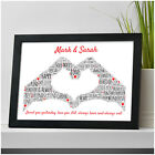 Gifts for Couples Personalised Boyfriend Girlfriend Her Him Anniversary Gifts